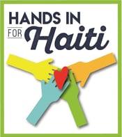 Hands in for Haiti logo